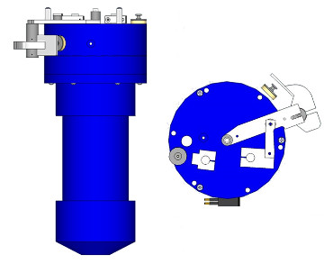 Schematic of the MGL Nephelometer 1000 Series